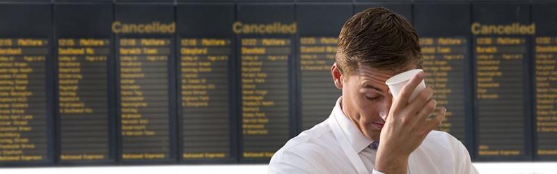 La indemnización en los vuelos se calcula de acuerdo a la distancia del vuelo.