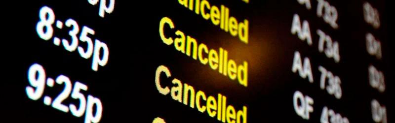 reclamar vuelo cancelado