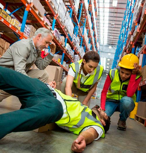 accidente laboral reclamación e indemnización